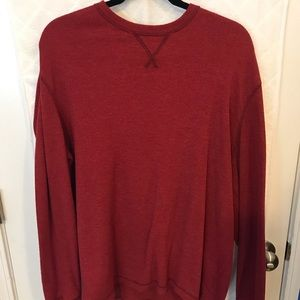 G.H. Bass & CO. red waffle long sleeve